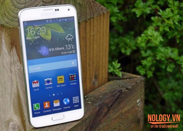 Thiết kế của Samsung Galaxy S5 cũ