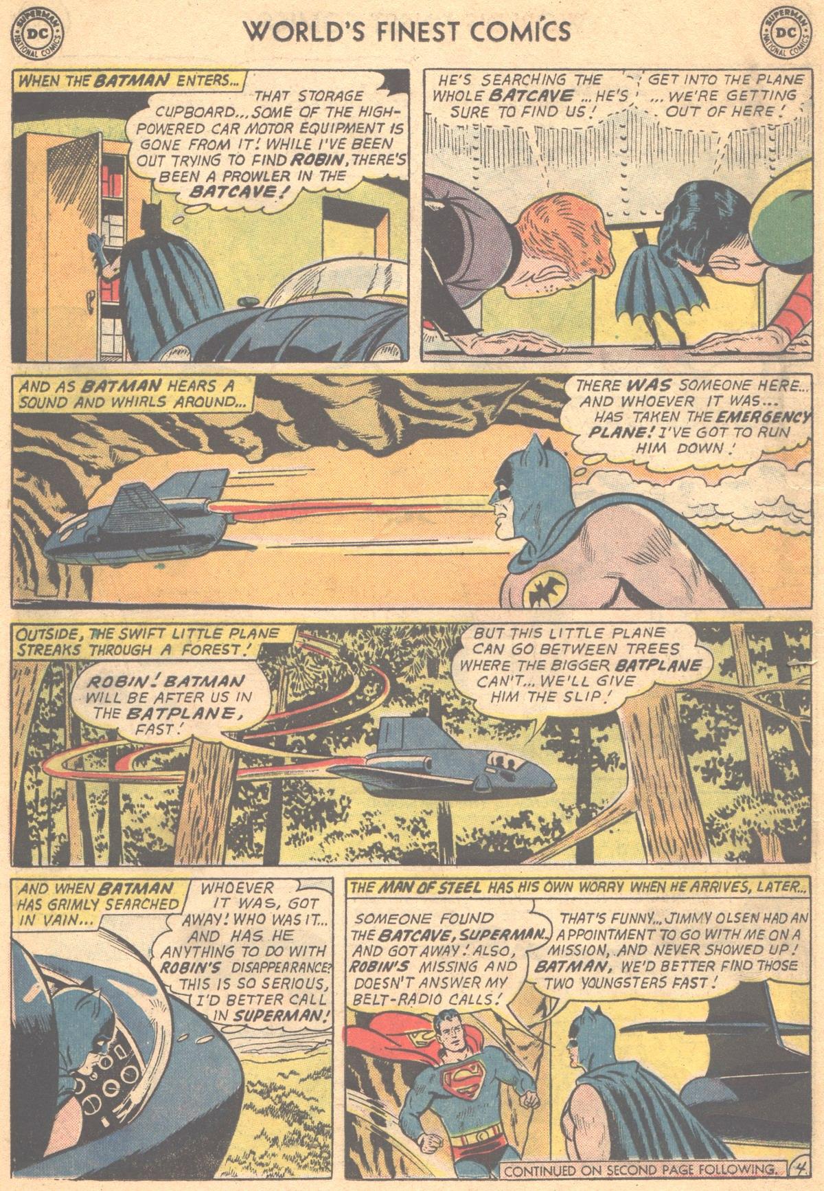 Read online World's Finest Comics comic -  Issue #147 - 6