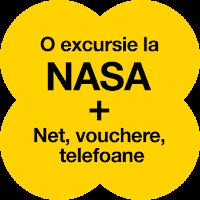 Castiga o excursie pentru 2 persoane la NASA in valoare de 5000 euro + 6 smartphone Samsung Galaxy S9