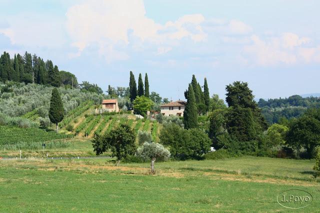 Paisaje de la Toscana, San Gimignano