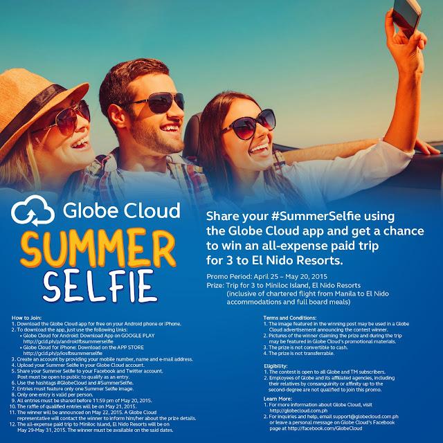 Globe Cloud Summer Selfie Promo