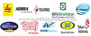 Loket PPOB Cek Bayar Tagihan Online BPJS Listrik Telkom Adira Fif Baf Wom Adira Motor Gold link pulsa murah Kalimantan Seiko