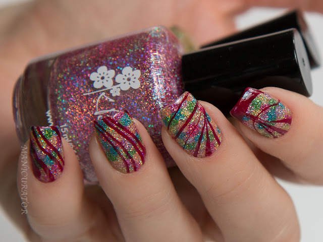 KBShimmer-Flame-Dot-Watermarble-Nail-Art