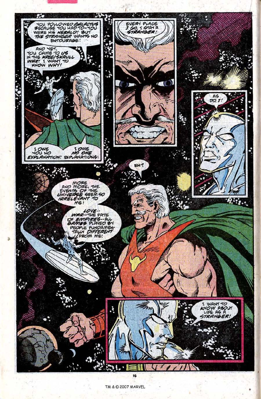 Read online Silver Surfer (1987) comic -  Issue #31 - 18