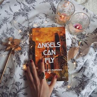 Avis roman Angels can fly Anaïs Montreau Sandra Szaja GRLFRND Coin des licornes Blog lifestyle Toulouse
