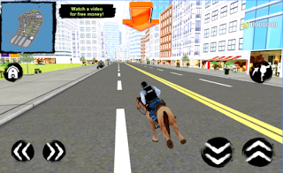 Game Mounted Police Horse 3D App