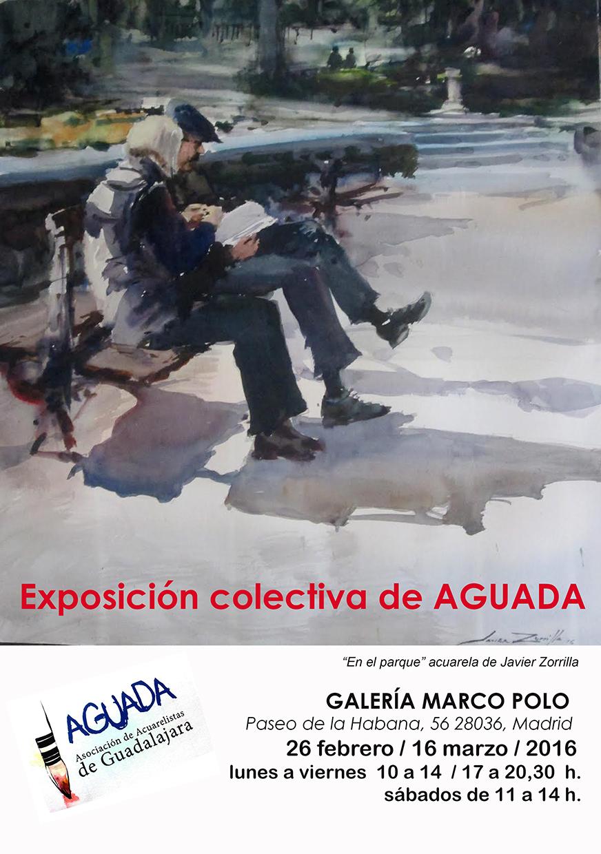 AGUADA: EXPOSICIÓN EN LA GALERÍA MARCO POLO DE MADRID