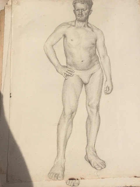 """Rhode Island School of Design"" ""Life Drawing"" Francis J. Quirk"" ""Famous Pennsylvania Artist"""