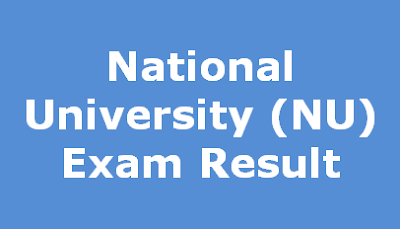 National University NU Exam Result
