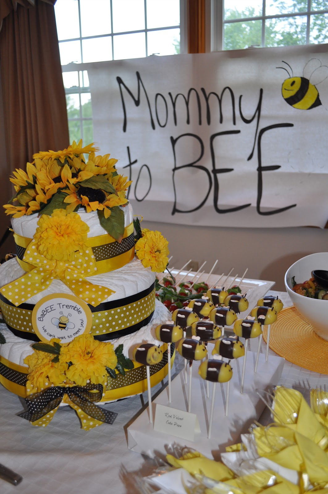 Short And Sweet A Bumble Bee Baby Shower