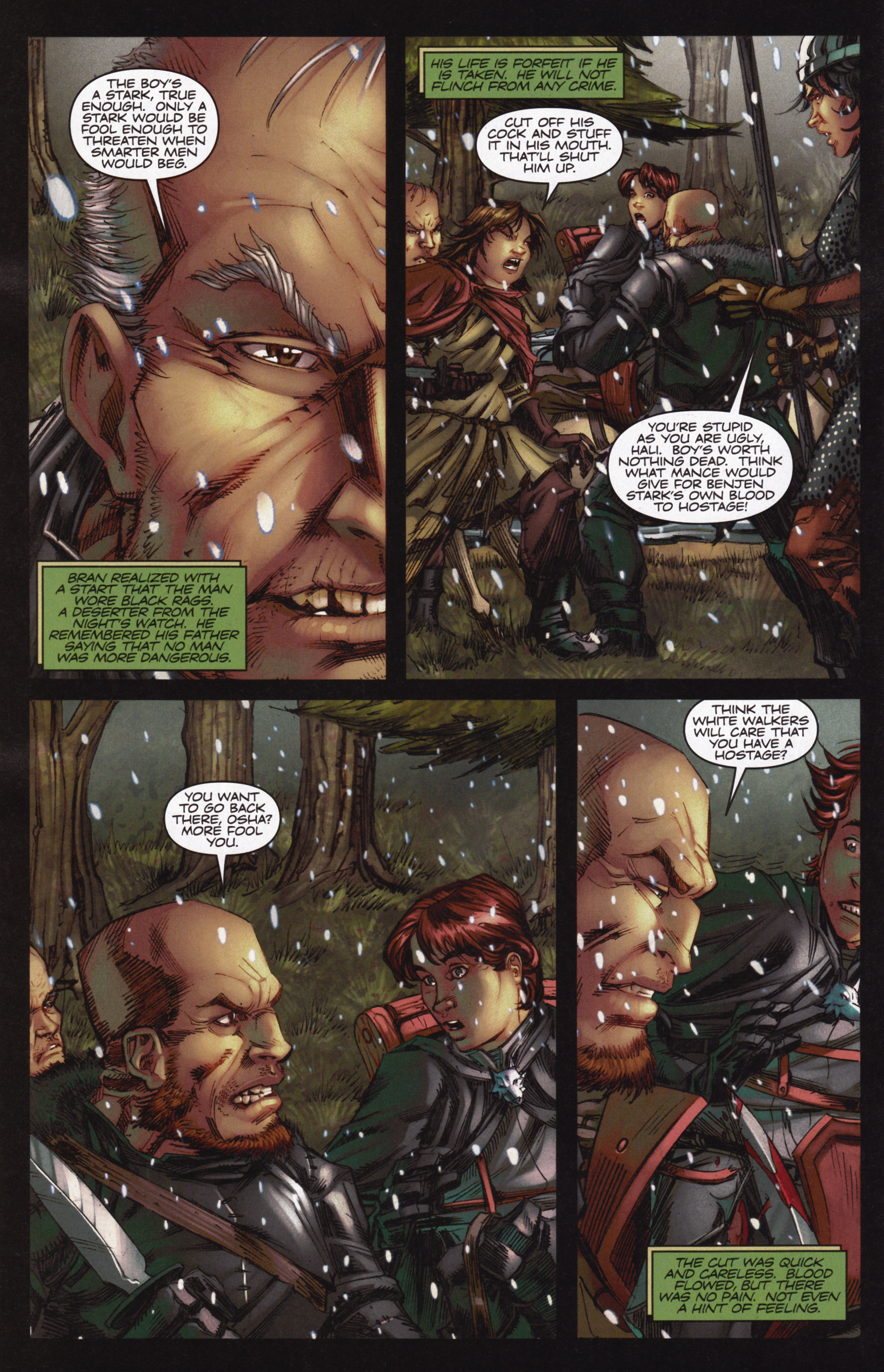 Read online A Game Of Thrones comic -  Issue #12 - 8