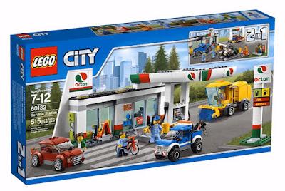 TOYS : JUGUETES - LEGO City 60132 Estación de servicio | Service Station Producto Oficial 2016 | Piezas: 515 | Edad: 7-12 años Comprar en Amazon España & buy Amazon USA