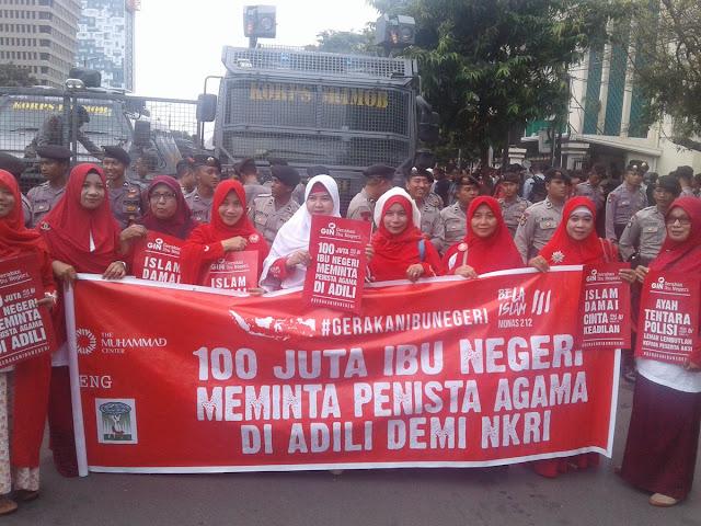 Gerakan Ibu Negeri Dukung Hakim untuk Vonis Ahok Bersalah