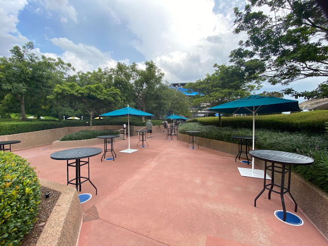 Relaxation Station EPCOT's Future World East Phased Reopening EPCOT Walt Disney World Resort