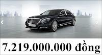 Giá xe Mercedes Maybach S400 4MATIC
