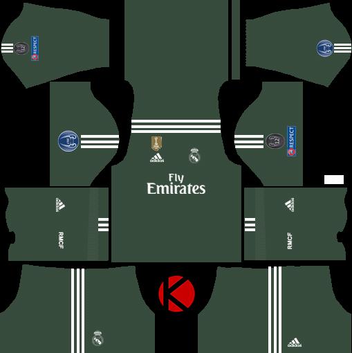 Real Madrid Kits 2017 2018 Dream League Soccer Kuchalana