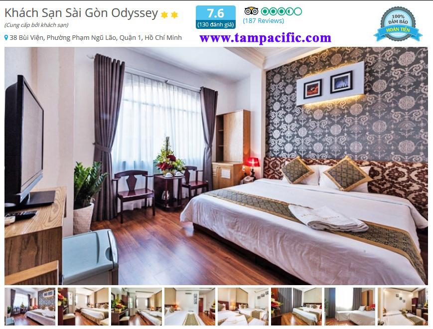 Khách sạn Sài Gòn Odyssey