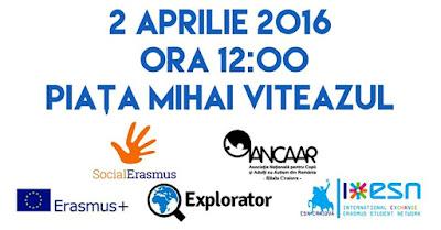 Piata Mihai Viteazul, ora 12:00, dress code albastru