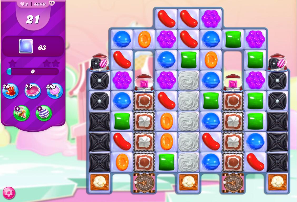 Candy Crush Saga level 4580