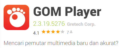 Pemutar video GOM Player