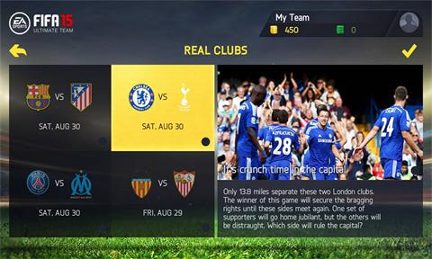Download FIFA 15: Ultimate Team 1.5.5.0 XAP For Windows Phone