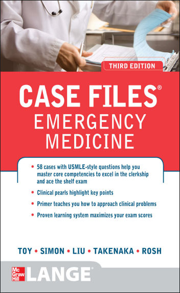 Case Files Emergency Medicine 3rd Edition [PDF]
