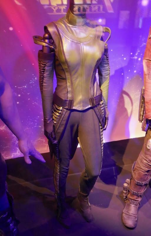 Avengers Infinity War Mantis costume detail