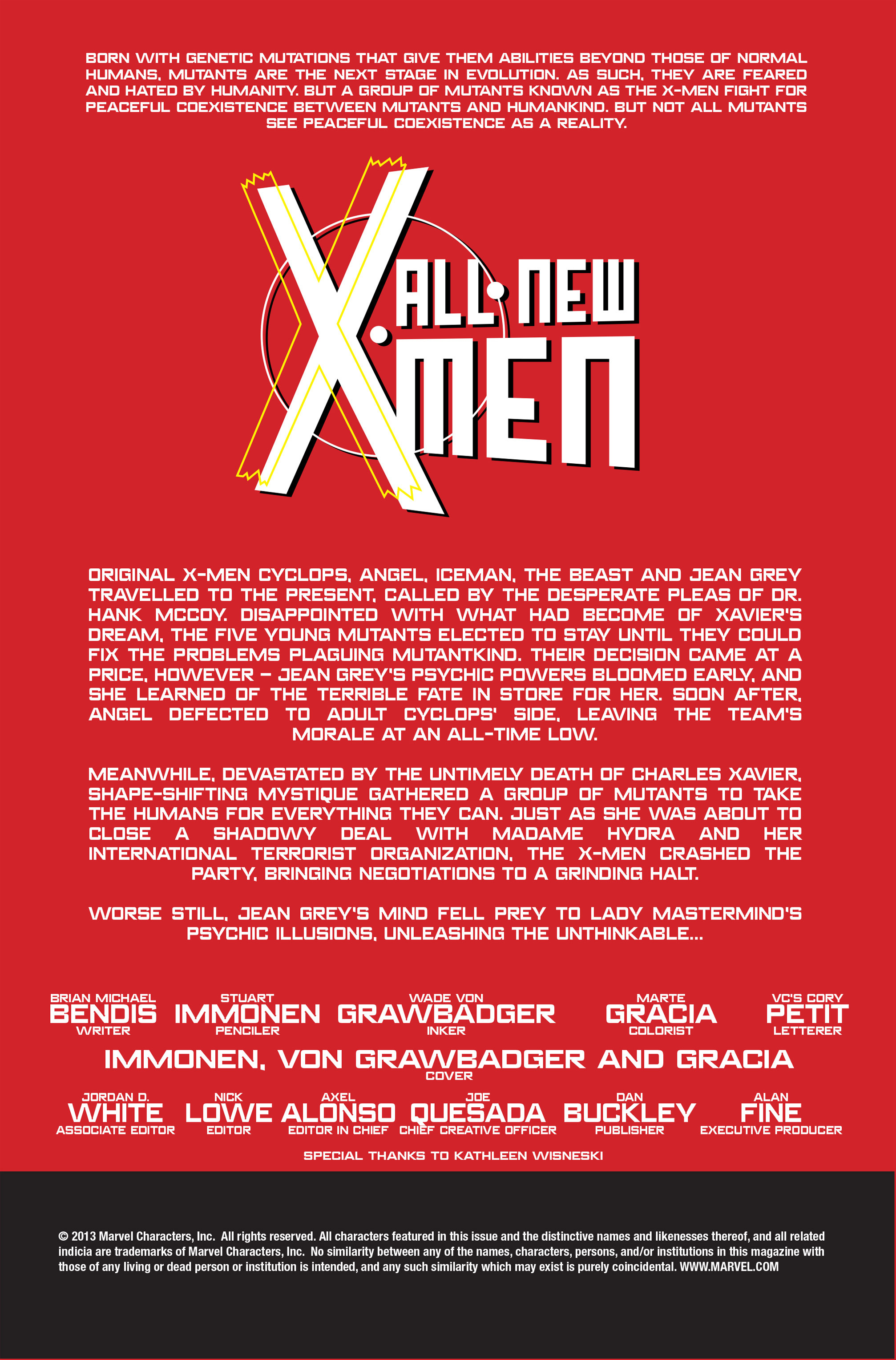 Read online All-New X-Men (2013) comic -  Issue # _Special - Out Of Their Depth - 70