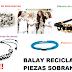 La Fabrica Balay Recicla piezas y hace Bisuteria Solidaria