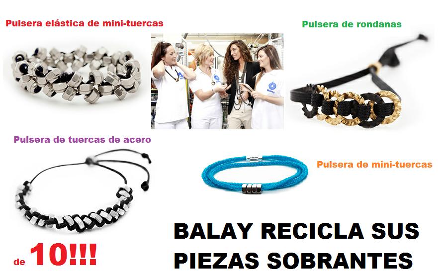 747a4faf82f5 La Fabrica Balay Recicla piezas y hace Bisuteria Solidaria - enrHedando