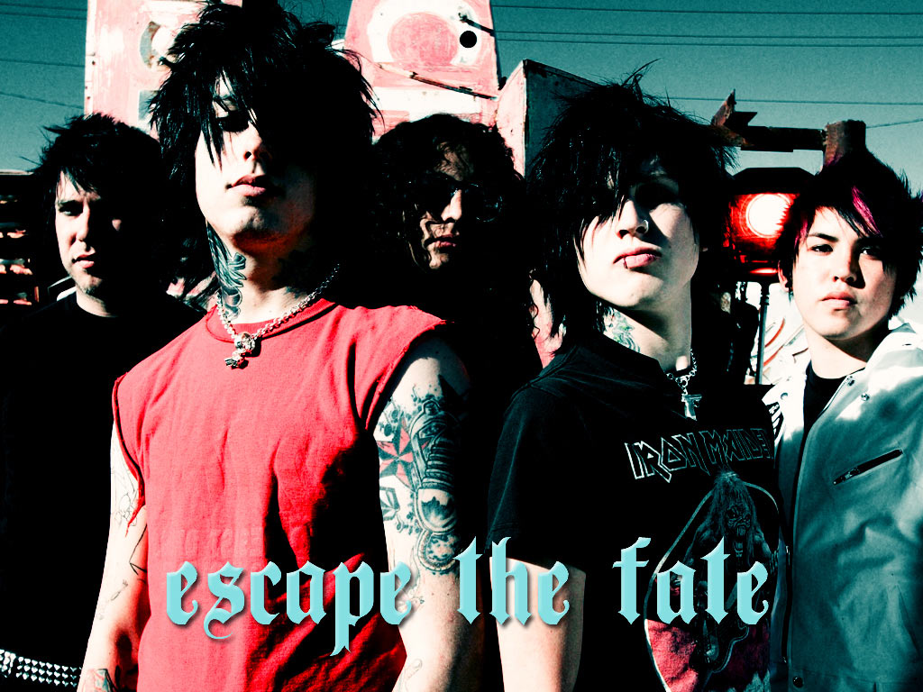 Wallpaper Falling In Reverse Escape The Fate Wallpaper All About Music