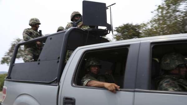 """Abaten a """"El Chaparro"""" líder de Los Zetas tras darse un topón con La Marina que no perdona"""