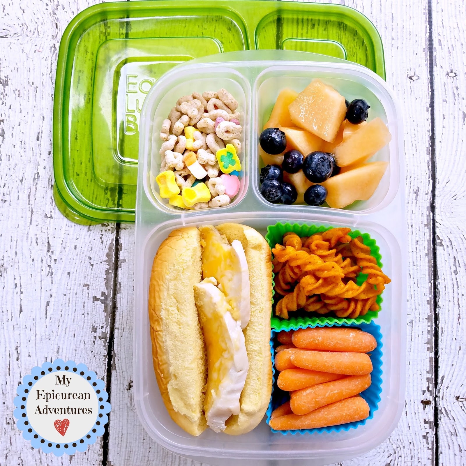 My epicurean adventures lunch box fun 2015 16 weeks 29 51 lunch box fun with a grilled chicken breast mini sub sandwich on a potato hot forumfinder Images