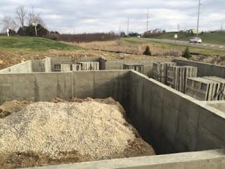 Ryan Homes Basement Construction