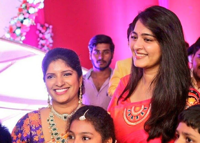 Anushka Shetty at Shyam Prasad Reddy's daughter Wedding Function