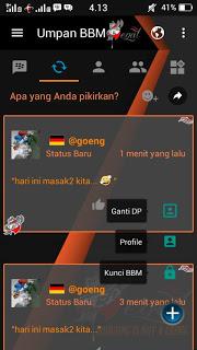 BBM Mod Begal Theme v3.0.1.25 Apk Unclone Apk Terbaru