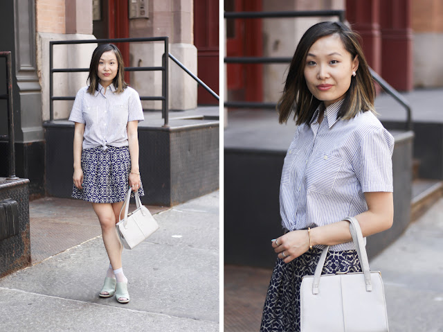 Taylor Swift Inspired Outfit Blouse and Skirt