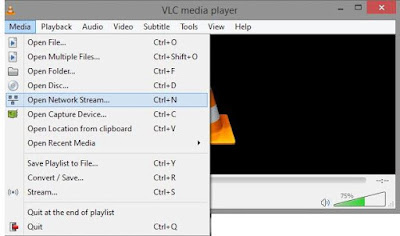 YouTube Video Play Throw Vlc Media Player