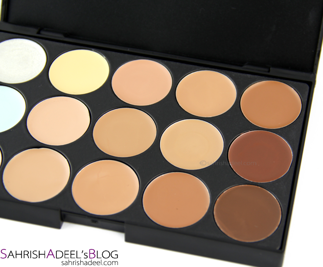 15 Color Concealer Palette - Review & Swatches