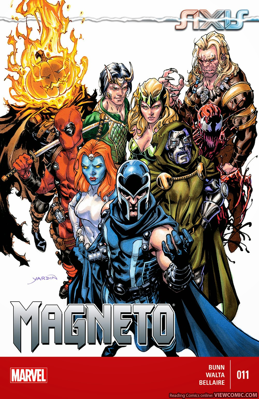 Magneto | Viewcomic reading comics online for free 2019