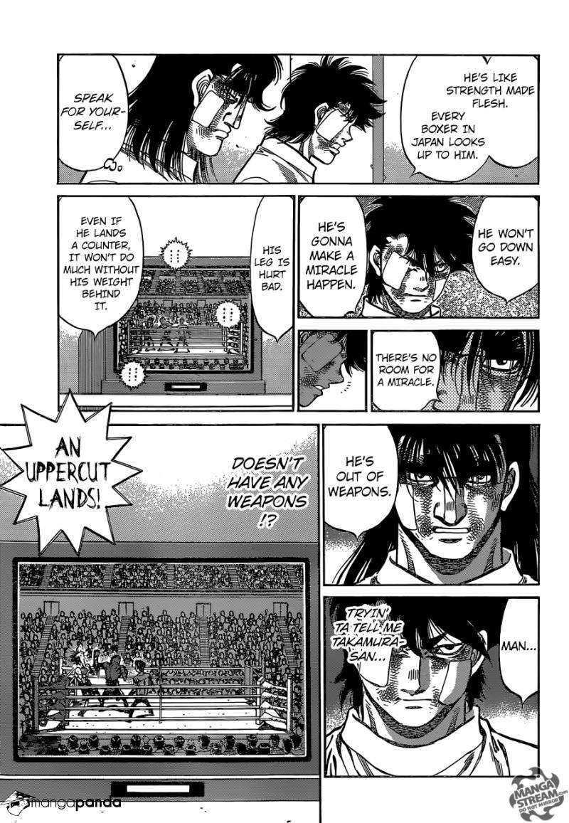 Hajime no Ippo - Chapter 1117