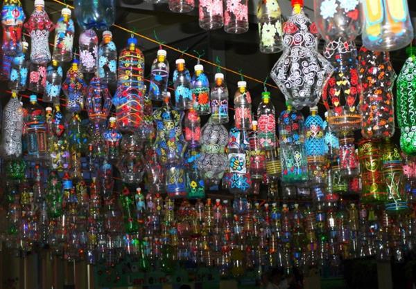 Cara Mudah Membuat Lampion Dari Botol Bekas