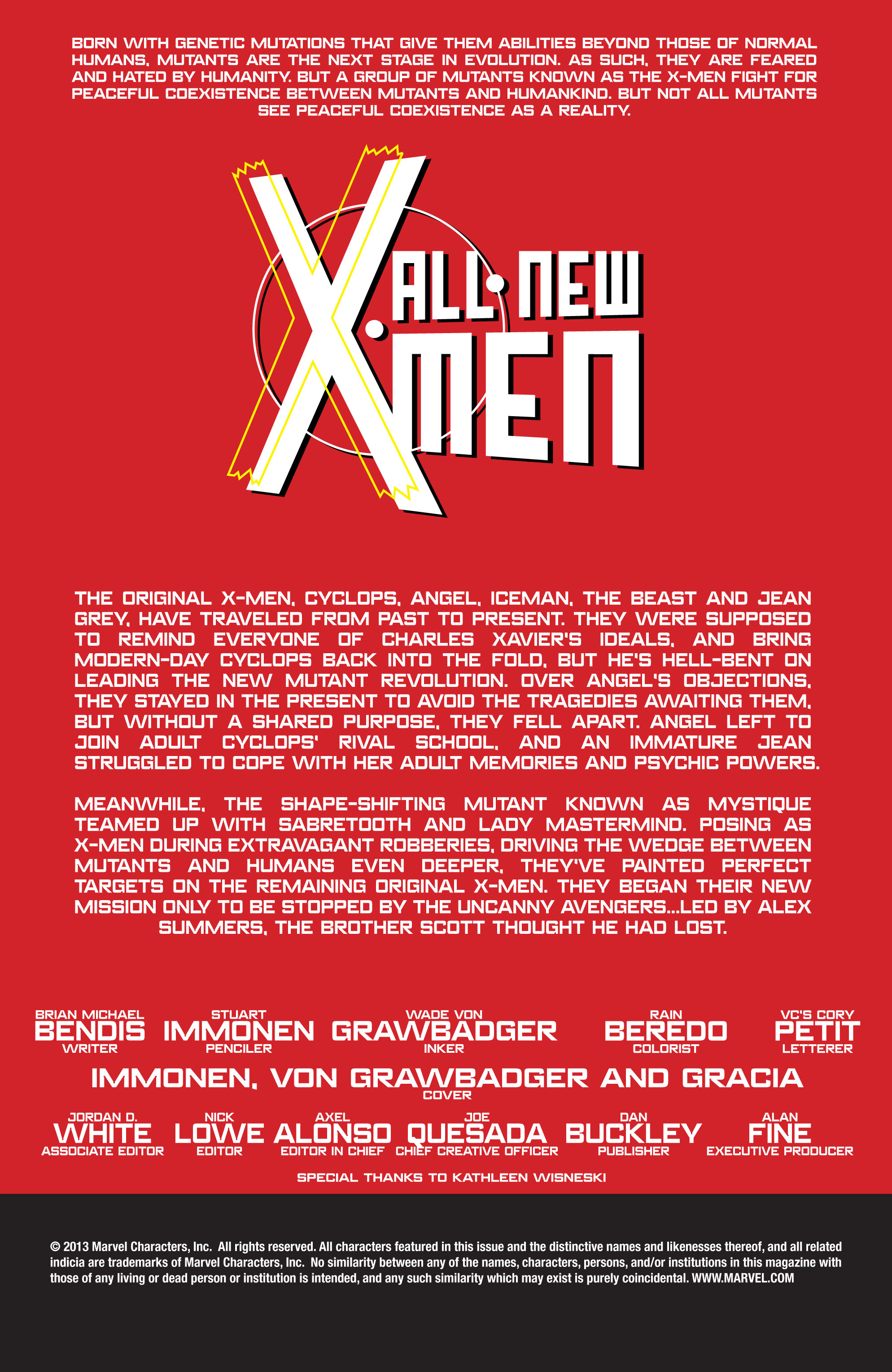 Read online All-New X-Men (2013) comic -  Issue # _Special - Out Of Their Depth - 27