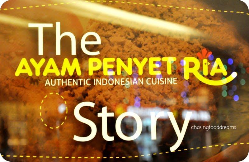 CHASING FOOD DREAMS: Ayam Penyet Ria, Summit Subang USJ: A Smashing