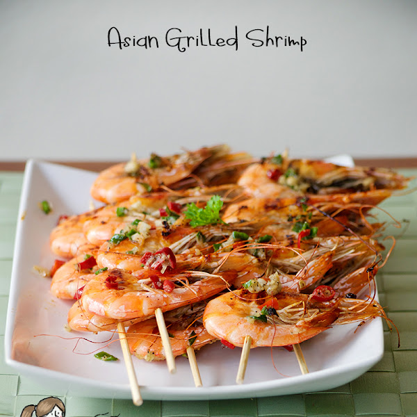 Chinese Grilled Shrimp