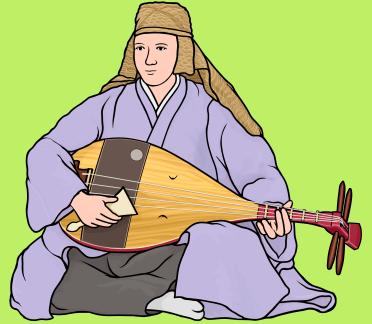 楽器事典:平家琵琶 へいけびわ