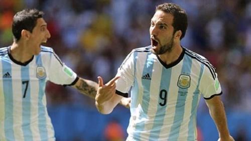 Gonzalo Higuain nhân tố mới của đội tuyển Brazil