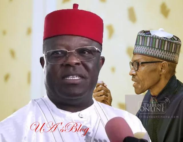Buhari, Umahi Relationship Not Partisan – Eboyi Govt