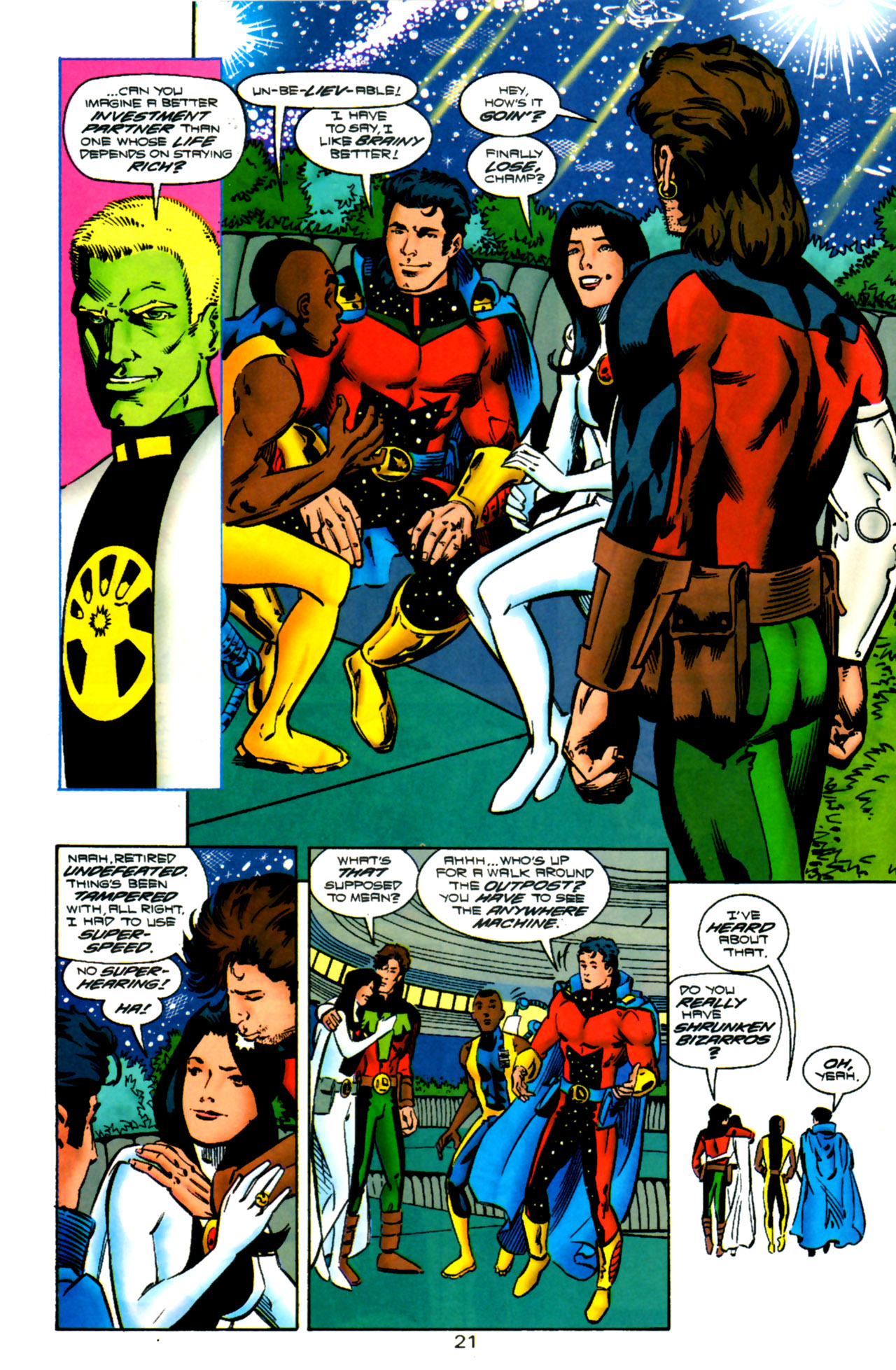 Legion of Super-Heroes (1989) 119 Page 20