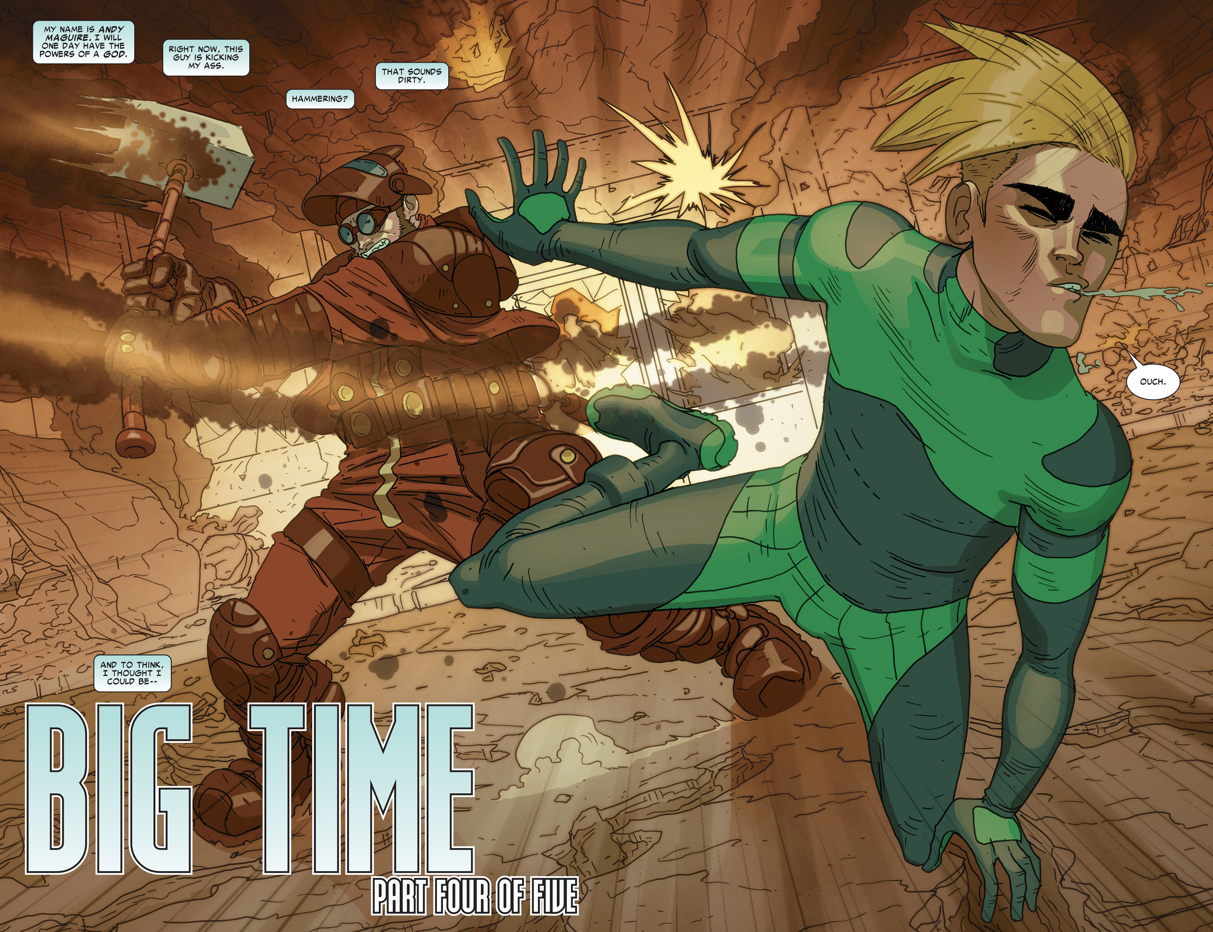 Read online Alpha - Big Time comic -  Issue #4 - 3
